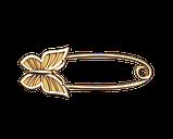Булавка серебряная Бабочка Бл_90008, фото 2