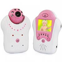 Видеоняня с Wi-Fi связью 8001, ИК-диоды для ночной подсветки, интерком, голосовая активация приёмника