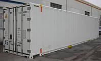 Рефрижераторный контейнер с обогревом 45 футов Hi Cube Pallet Wide б/у 2004 г. THERMO KING, рефконтейнер
