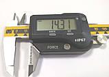 Штангенциркуль прецизионный ШЦЦПВ-І-150 (±0,01 мм; IP-67; блютуз) с регулировкой нагрузки нажима, фото 3