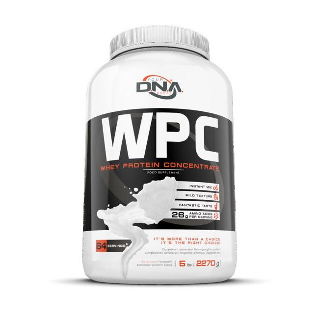 Сывороточный протеин концентрат DNA Supps  WPC (2,27 кг) дна саппс chocolate