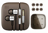 Наушники вакуумные Xiaomi Piston с микрофоном silver копия, фото 3