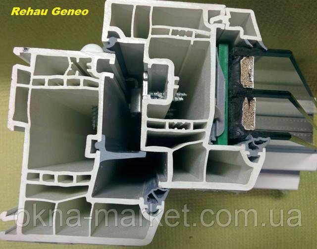 Пластиковые окна Rexau Geneo