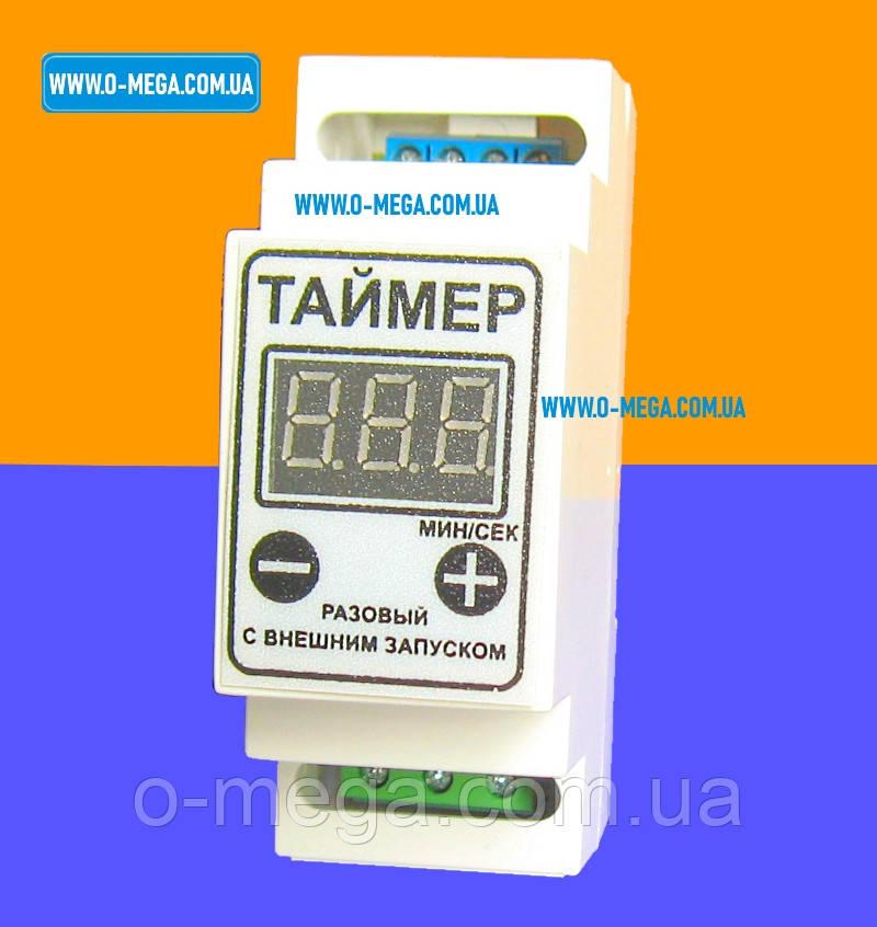 Таймер цифровой ТРВД-2 разовый с внешним запуском 10А