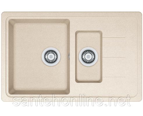 Кухонная мойка гранит SOFIA G7850D