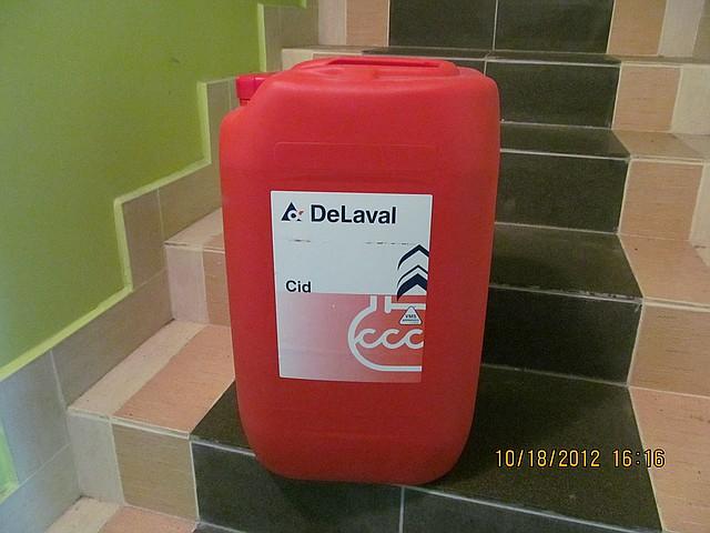 Кислотное моющее средство Cid от ДеЛаваль