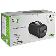 Портативная Bluetooth Колонка SPD CIGII F61 BT  + ПОДАРОК: Настенный Фонарик с регулятором BL-8772A, фото 3