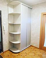 Шкаф купе две двери ЛДСП- Алюминмй