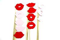 Фотобутафория для веселых фотосессий Kisses 12 предметов