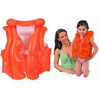 Надувной жилет детский для плавания Intex 58671