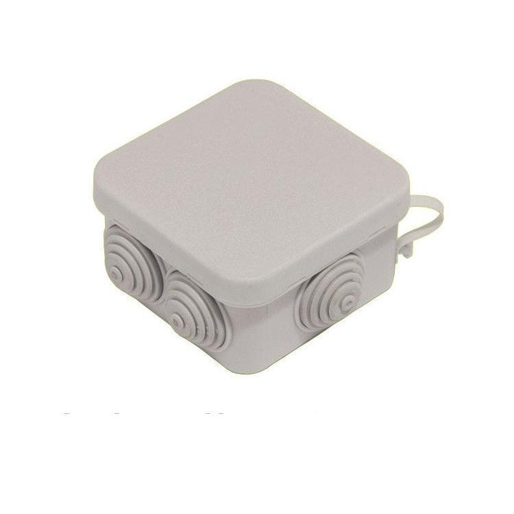 Монтажная коробка (распаячная, распределительная, соединительная) 85*85*50 Takel