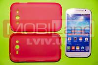 "Чохол силікон ""S""  Samsung i9082/Grand (pink)"