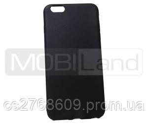"""Чохол силікон """"S""""  iPhone 6+ 5,5 (black)"""