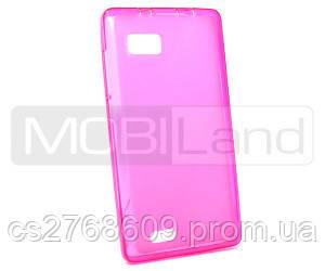 "Чохол силікон ""S""  Lenovo A788 (pink)"