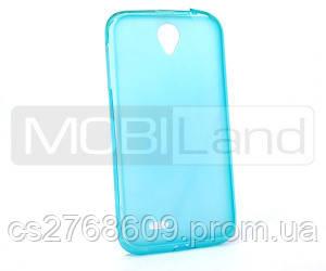 """Чохол силікон """"S""""  Lenovo A850 (blue)"""