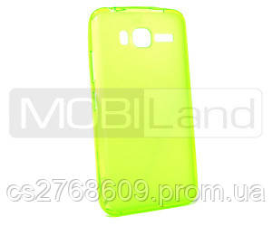 "Чохол силікон ""S""  Lenovo A916 (green)"