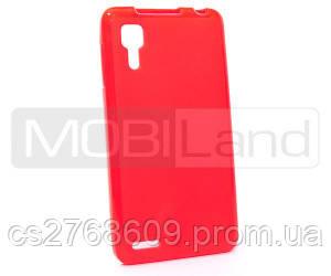 "Чохол силікон ""S""  Lenovo P780 (red)"