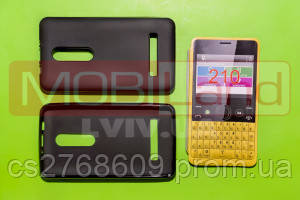 "Чохол силікон ""S""  Nokia 210 (black)"