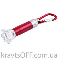 Фонарь Брелок JWB-013-6+1RGB 2 режима/011-7L