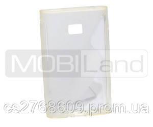 """Чохол силікон """"S""""  LG E400 /L3 (white)"""