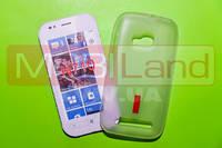 "Чохол силікон ""S""  Nokia 710 (white)"
