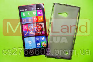 "Чохол силікон ""S""  Nokia 730 (violet)"
