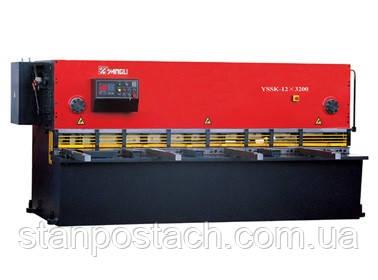 Гильотины Yangli серии QC11K с ЧПУ по 1-ой оси ESTUN E20
