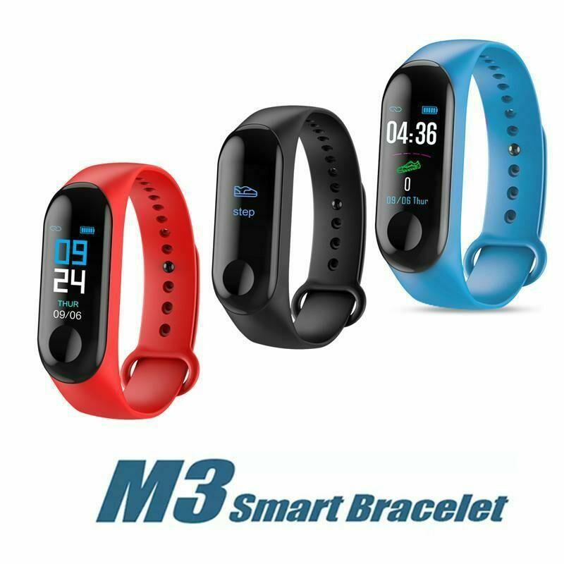 Фитнес браслет M3 в стиле Xiaomi Mi Band 3 (Smart Band)  Умный браслет Фитнес трекер