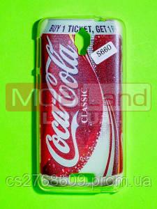 Силікон фото Lenovo S660 Кока Кола