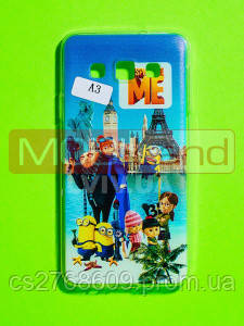Силікон фото Samsung A3 Міньйон