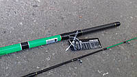 Спиннинг штекерный   зеленый  weida Concord  2.1 м карбоновый  (к SIC-кольца)  50 -150 гр тест