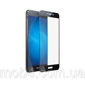 Защитное стекло для Huawei (Хуавей) P8 lite 2017 (черное, белое, золотое)