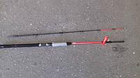 Спиннинг штекерный   красный weida Concord   карбоновый   2,4 м (SIC-кольца)  50 -150 гр тест