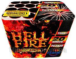 Салют Hell Fire 20 выстрелов
