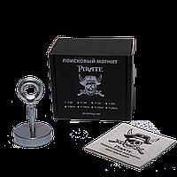 Поисковый магнит F-80 Пират односторонний + ТРОС