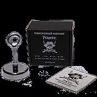 Поисковый магнит F-100 Пират односторонний + ТРОС 🎁