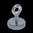 Поисковый магнит F-200 Пират односторонний + ТРОС 🎁, фото 2