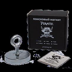 Поисковый магнит F-300 Пират односторонний + ТРОС 🎁