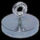 Поисковый магнит F-600 Пират односторонний + ТРОС 🎁, фото 3