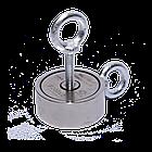 Поисковый магнит F-200х2 Пират двухсторонний + ТРОС 🎁, фото 3