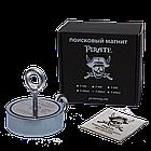 Поисковый магнит F-400х2 Пират двухсторонний + ТРОС 🎁, фото 2