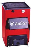 Котел стальной твердотопливный Amica Optima 14 P
