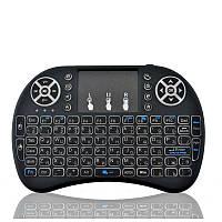 """Беспроводная мини клавиатура пульт для ТВ """"Mini Keyboard UKB 500"""" (Black)"""