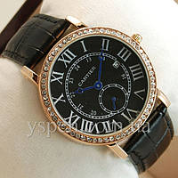 Женские Ronde Louis Carttier Gold and brilliant/Black