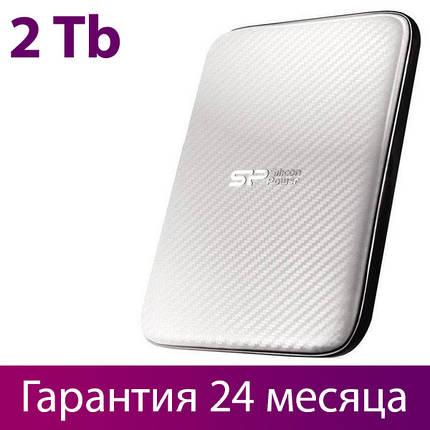 """Внешний жесткий диск 2 Тб Silicon Power Diamond D20, White, 2.5"""", USB 3.0 (SP020TBPHDD20S3W), фото 2"""