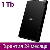 "Внешний жесткий диск 1 Тб Silicon Power Stream S03, Black, 2.5"", USB 3.0 (SP010TBPHDS03S3K)"