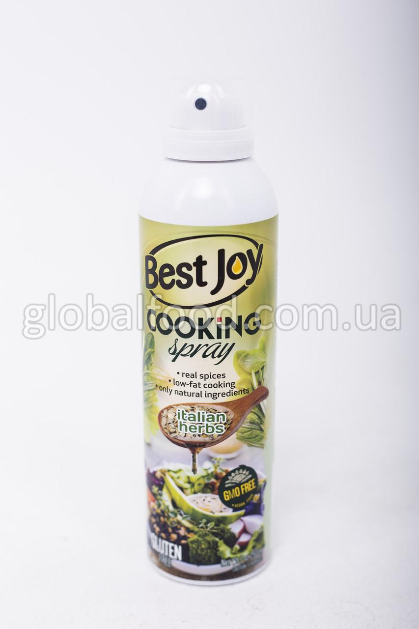 Кулинарный спрей Best Joy Cooking Spray 100% итальянские травы 250мл