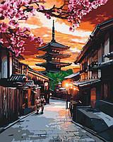 Картина по номерам на холсте На закате солнца, KHO3525