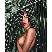 Картина по номерам на холсте Соблазнительная амазонка, KHO4507