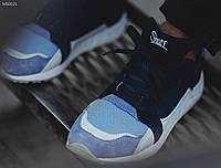 Летние мужские кроссовки сетка Staff navy/blue